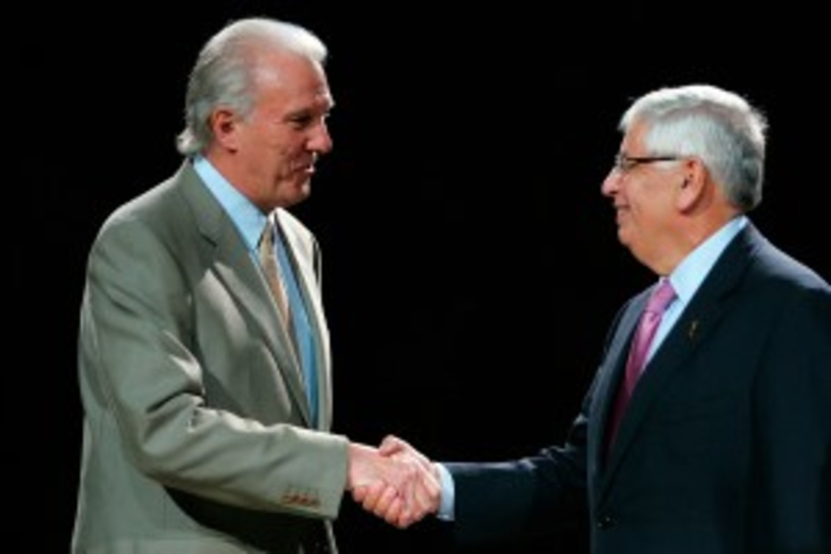 David Stern defended his $250,000 fine for the Spurs in a statement this week. (Ronald Martinez/Getty Images)