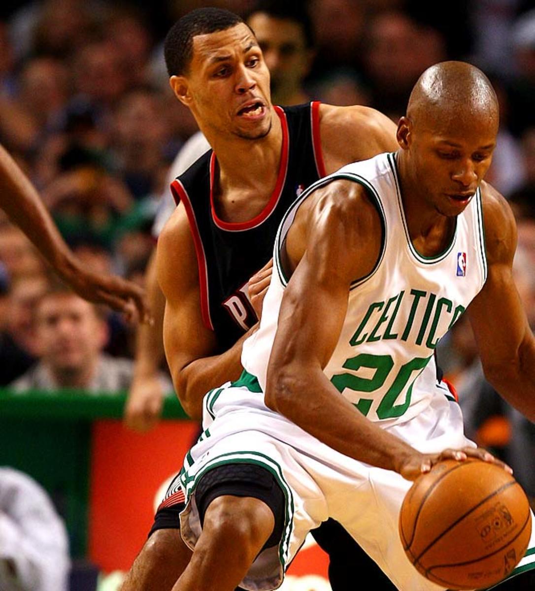 Trail Blazers at Celtics