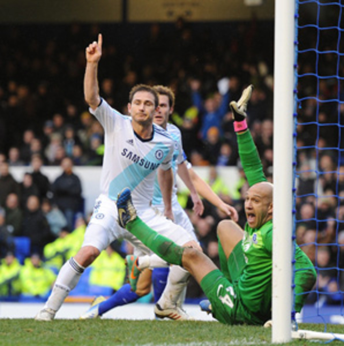 Frank Lampard's second goal gave Chelsea the lead for good in the 72nd minute.