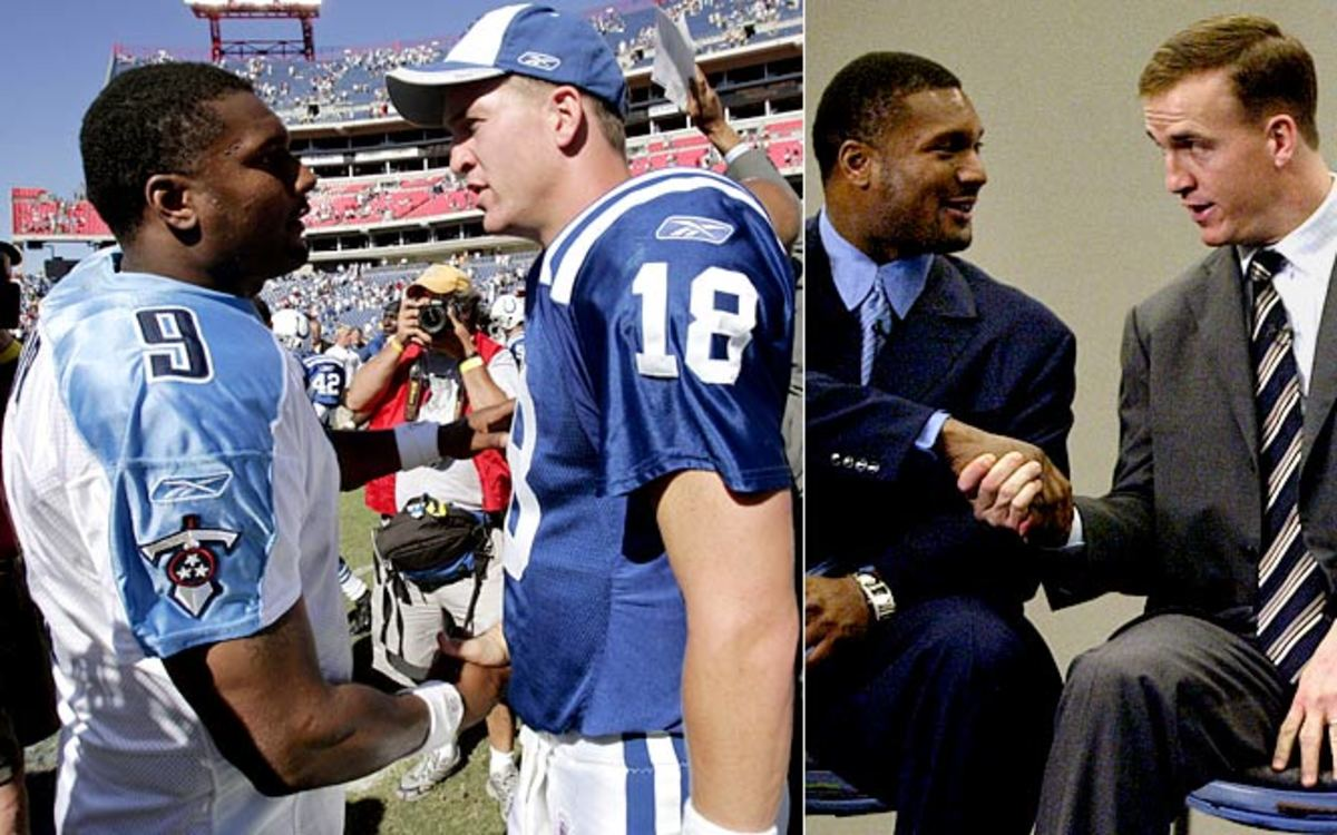 Steve McNair (TEN) and Peyton Manning (IND)