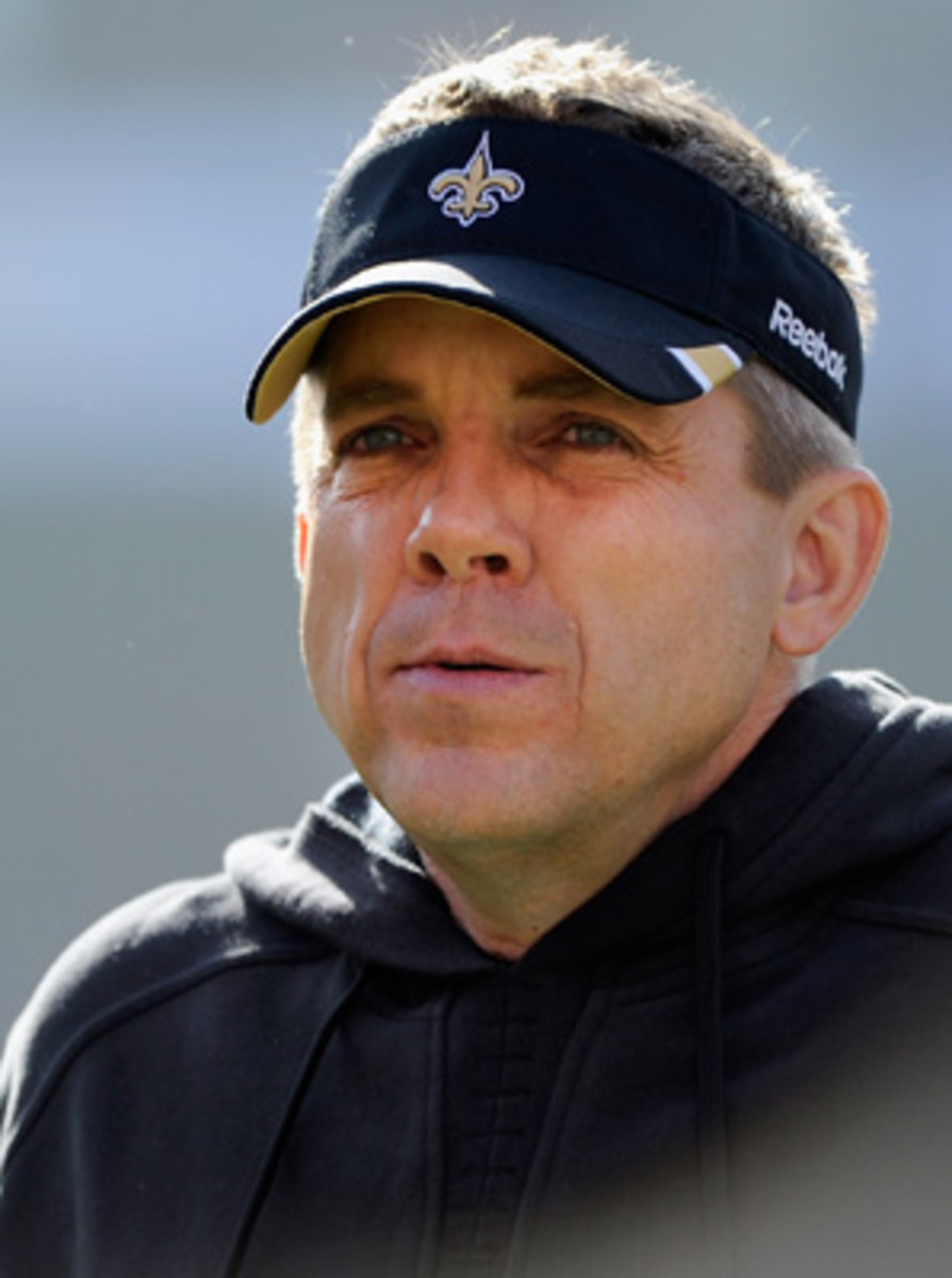 Head Coach Sean Payton was suspended for the season as a result of the Saints' cash-for-hits program.
