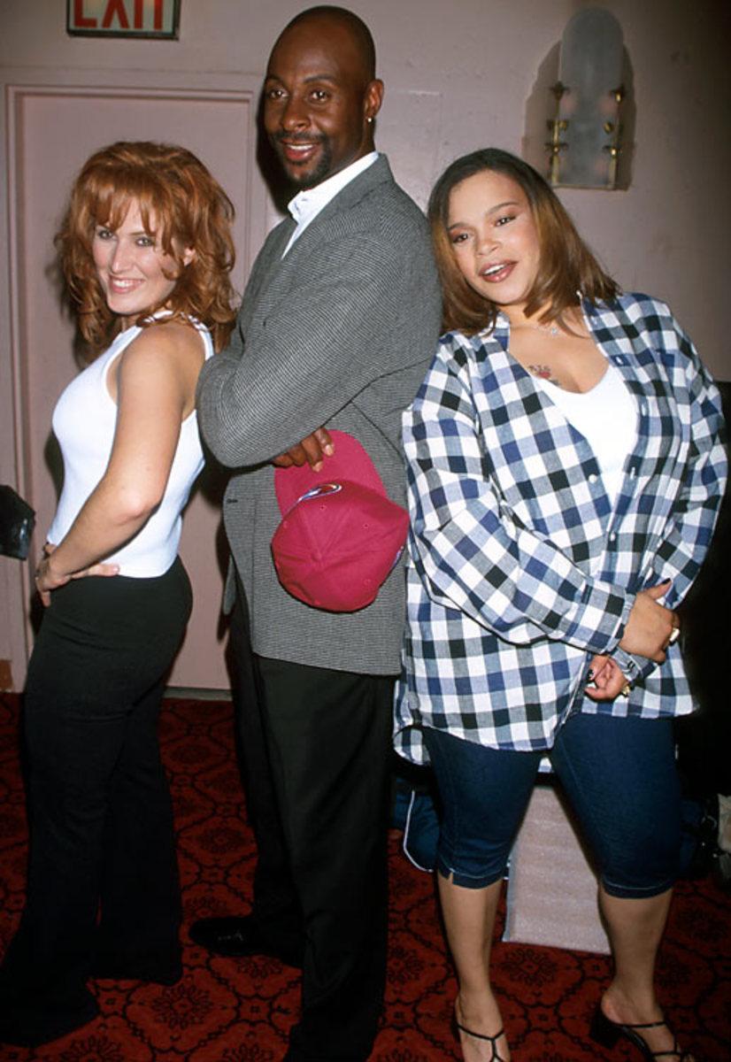 Jerry Rice, Jo Dee Messina and Faith Evans