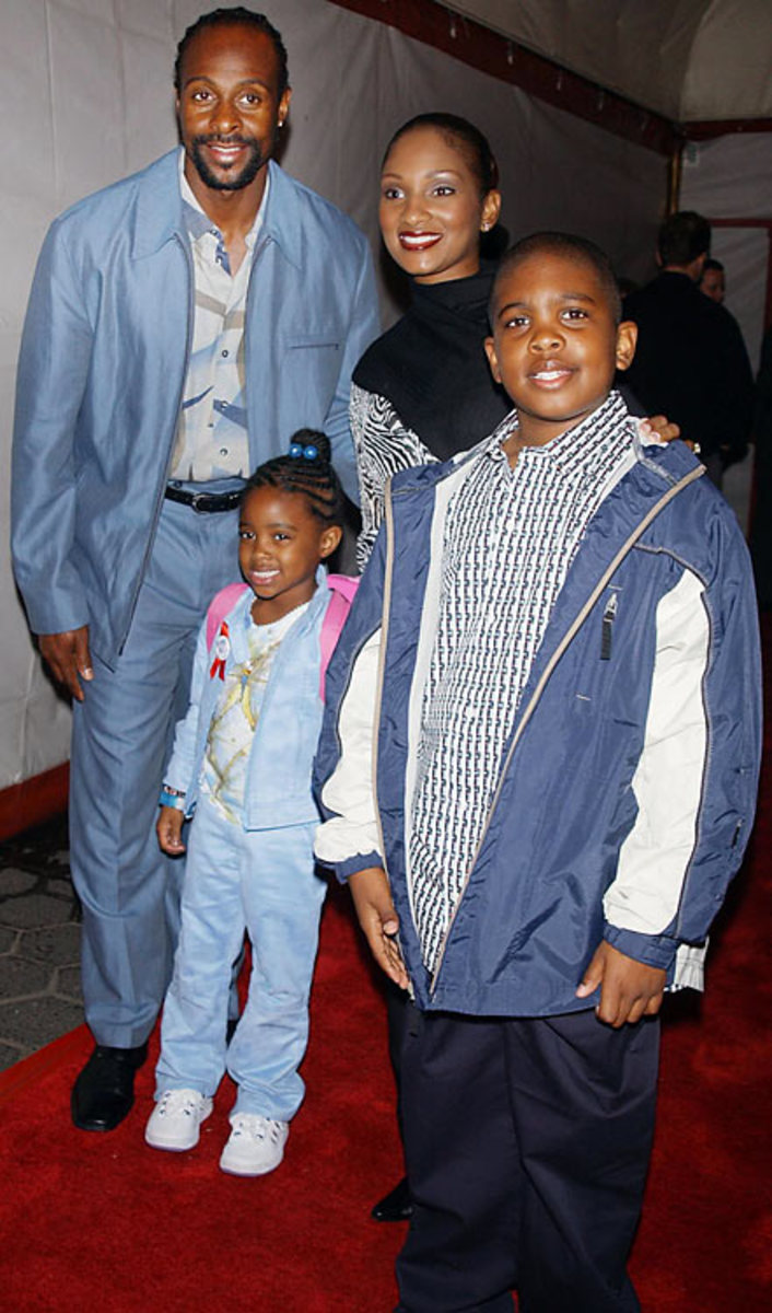 Jerry Rice and family