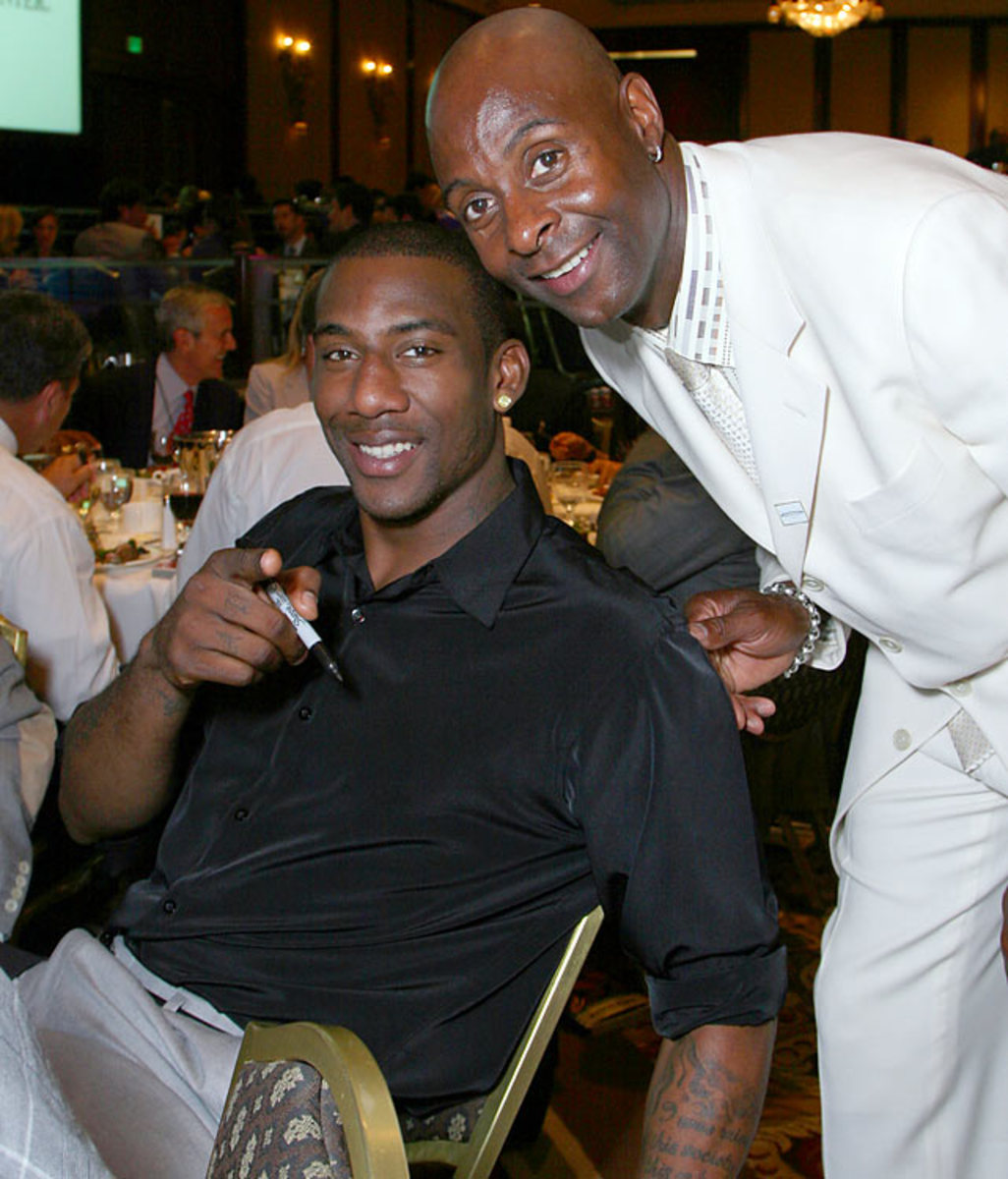 Jerry Rice and Amare Stoudemire