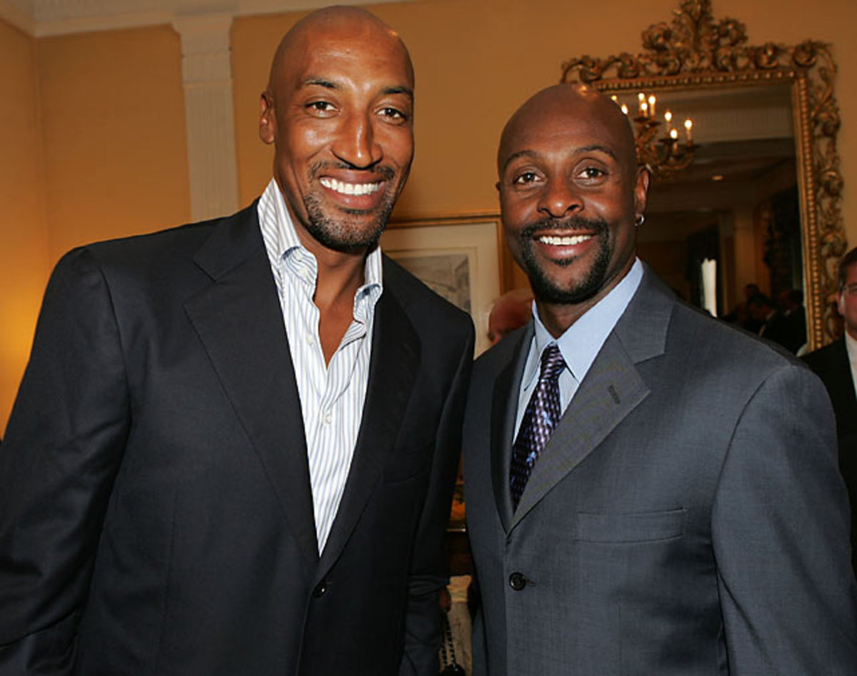 Jerry Rice and Scottie Pippen