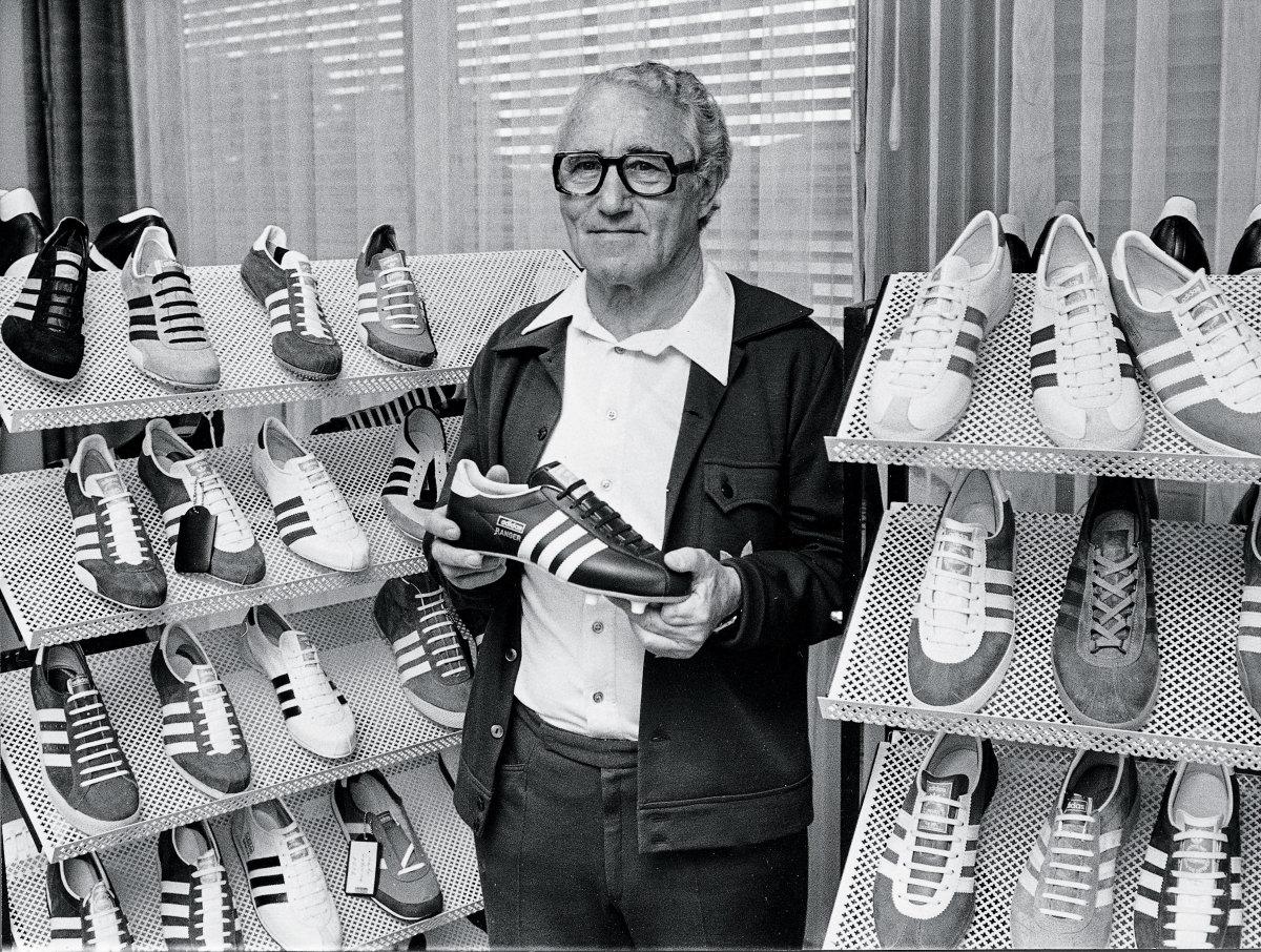 Adi Dassler in 1973. (Brauner/ullstein bild/Getty Images)