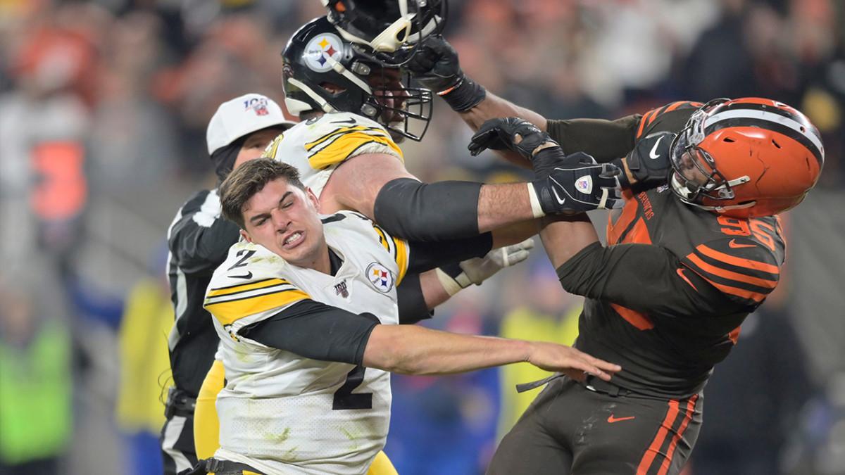 One NFL Beat Reporter Had The Worst Mason Rudolph-Myles Garrett Take: TRAINA THOUGHTS