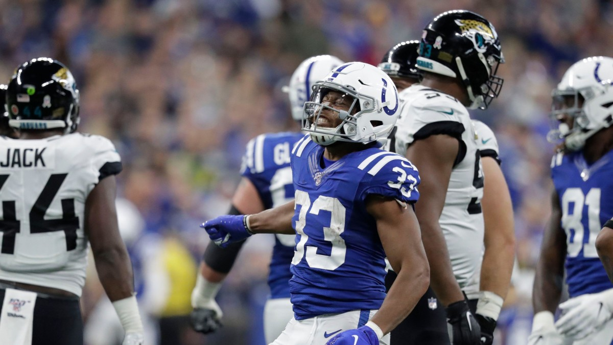 Jonathan Williams rushed for 116 yards in the Colts' Week 11 win over Jacksonville.