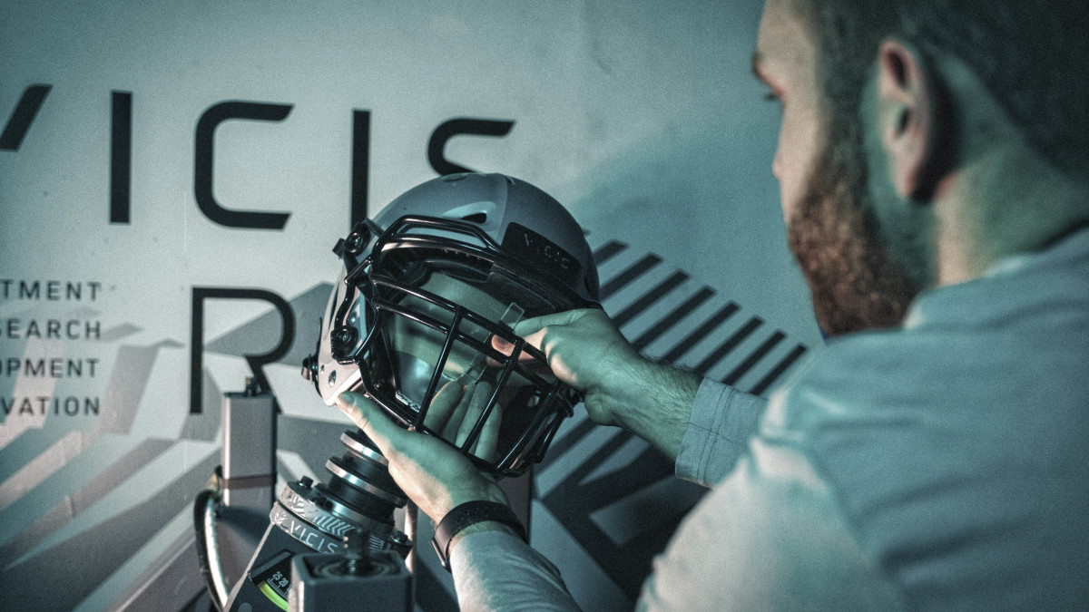 Vicis helmet safety