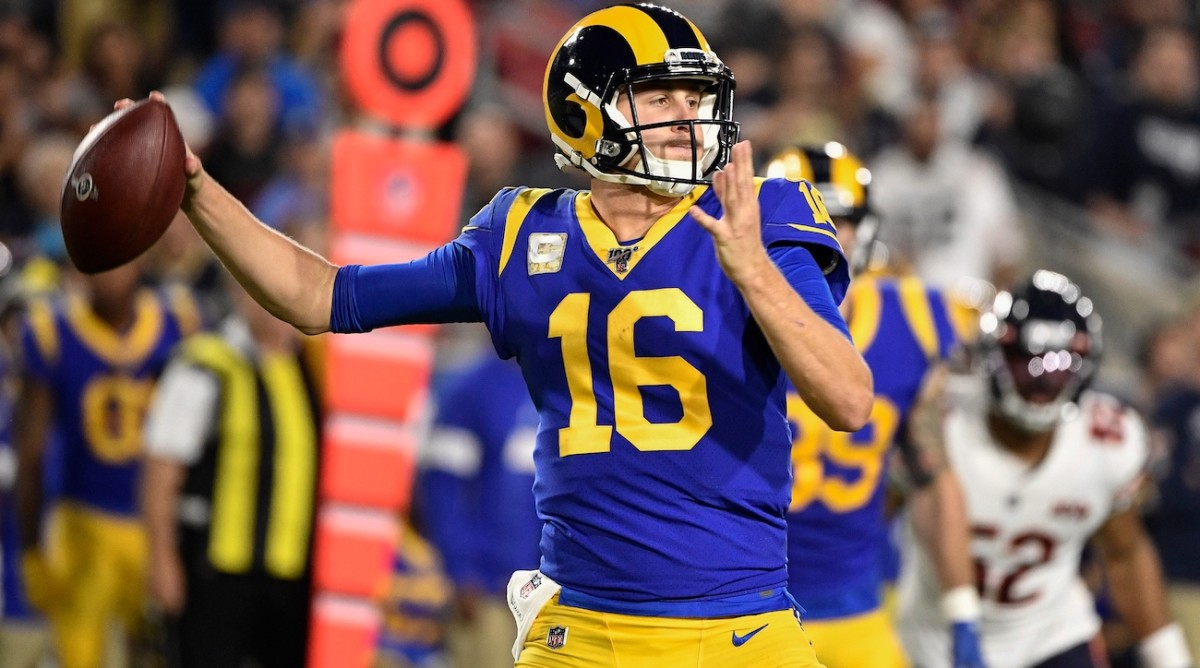 Fantasy Football: Jared Goff Week 12