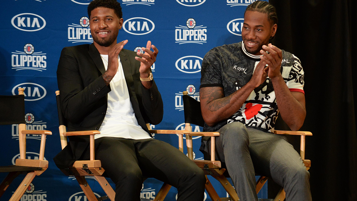 The Debut of the Clippers' Kawhi-PG Pairing May Have Been 'Fun as Hell' but It's Still a Work in Progress