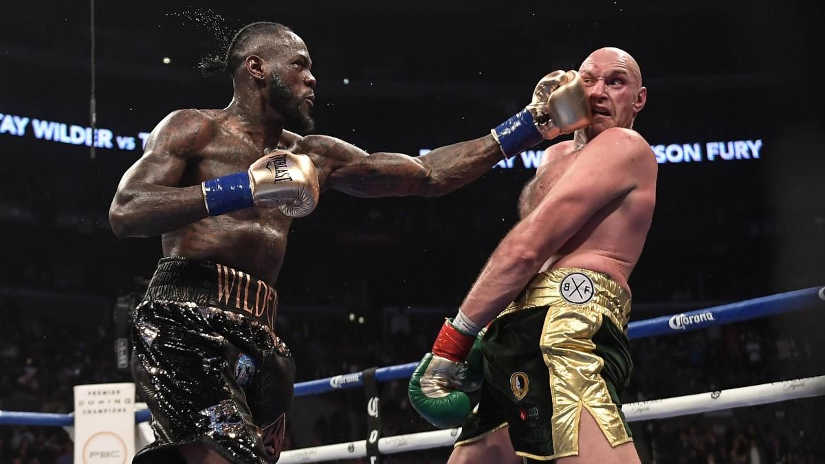 Deontay Wilder fights Tyson Fury