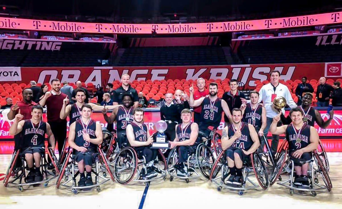 Alabama men's wheelchair 2019 national champions