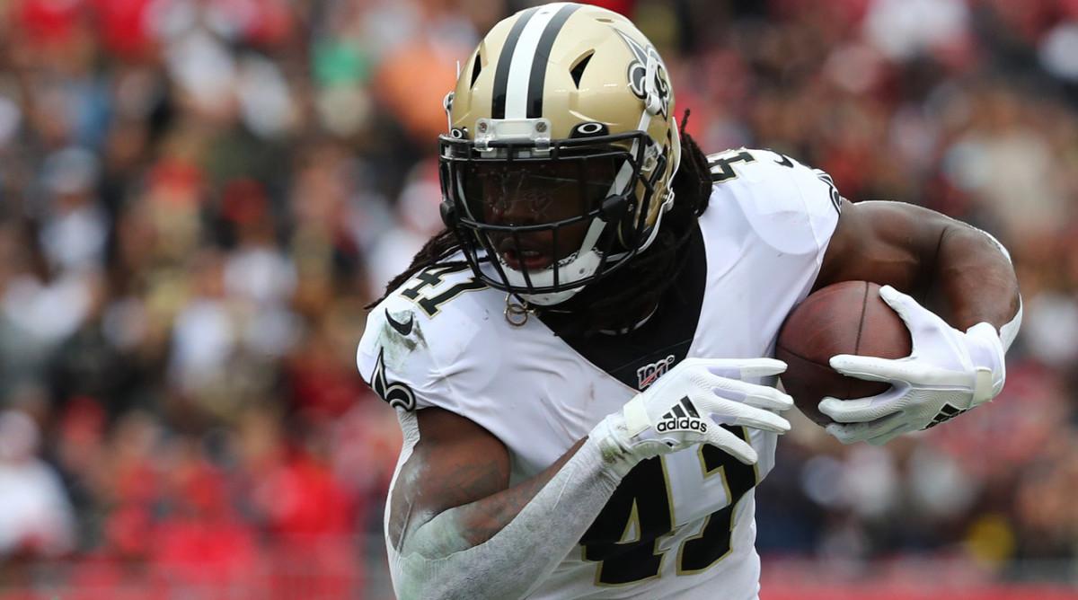 Week 12 NFL DFS Ambush Alvin Kamara