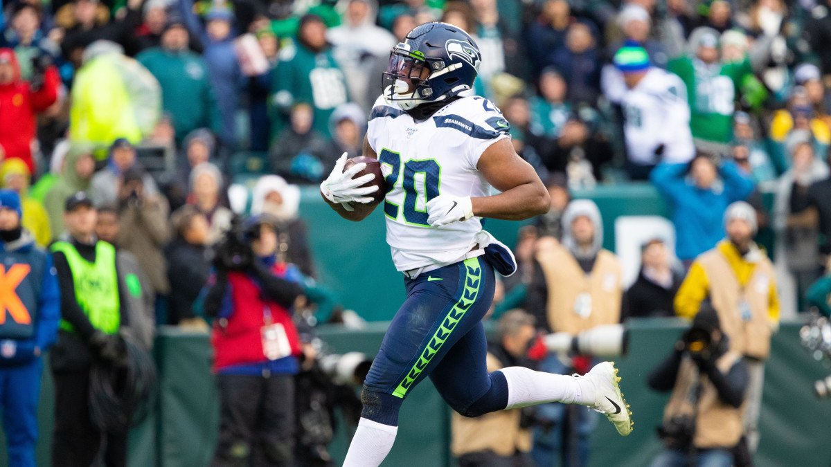 Rashaad Penny had the best game of his young career in the Seahawks' win over the Eagles.