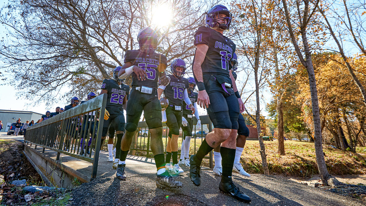 Ouachita, as home team, had the shorter of two short commutes in 2019.