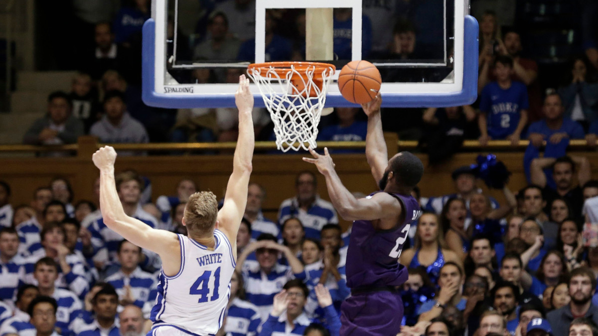 Nathan Bain scored the game-winning shot in overtime for Stephen F. Austin to take down No. 1 Duke.