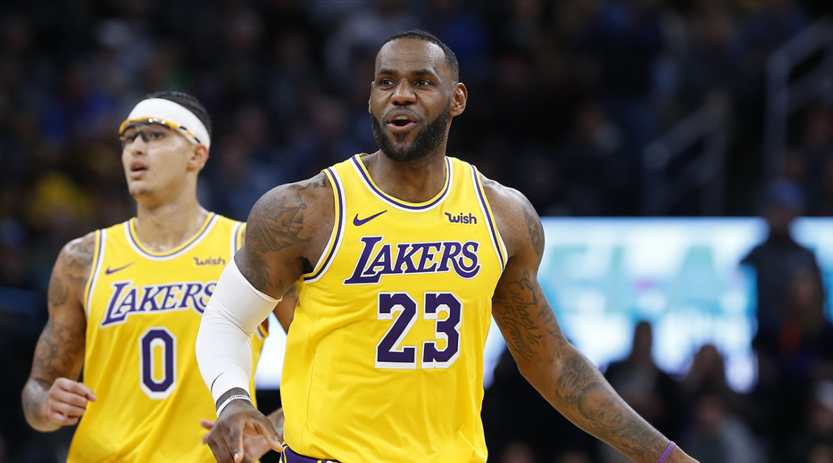 LeBron James Vents Over Referee's Call During Review