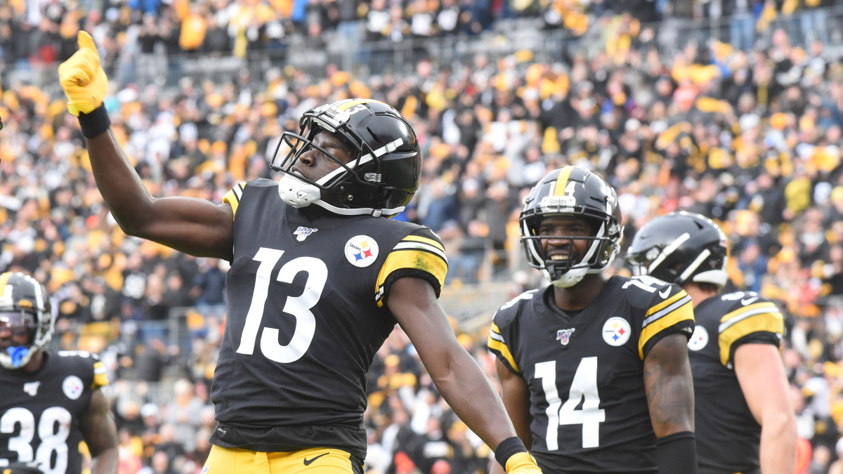 James Washington has seven catches for 209 yards and two touchdowns in his last two games.