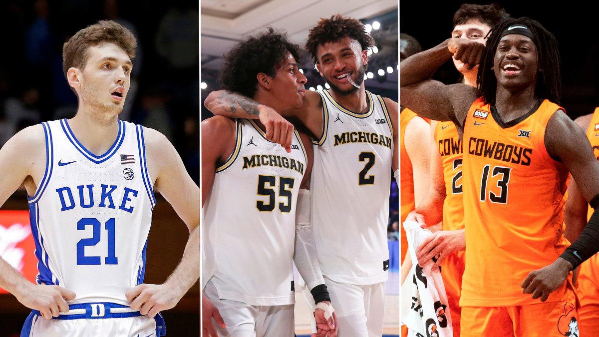Michigan Duke Lead College Basketball Feast Week Winners