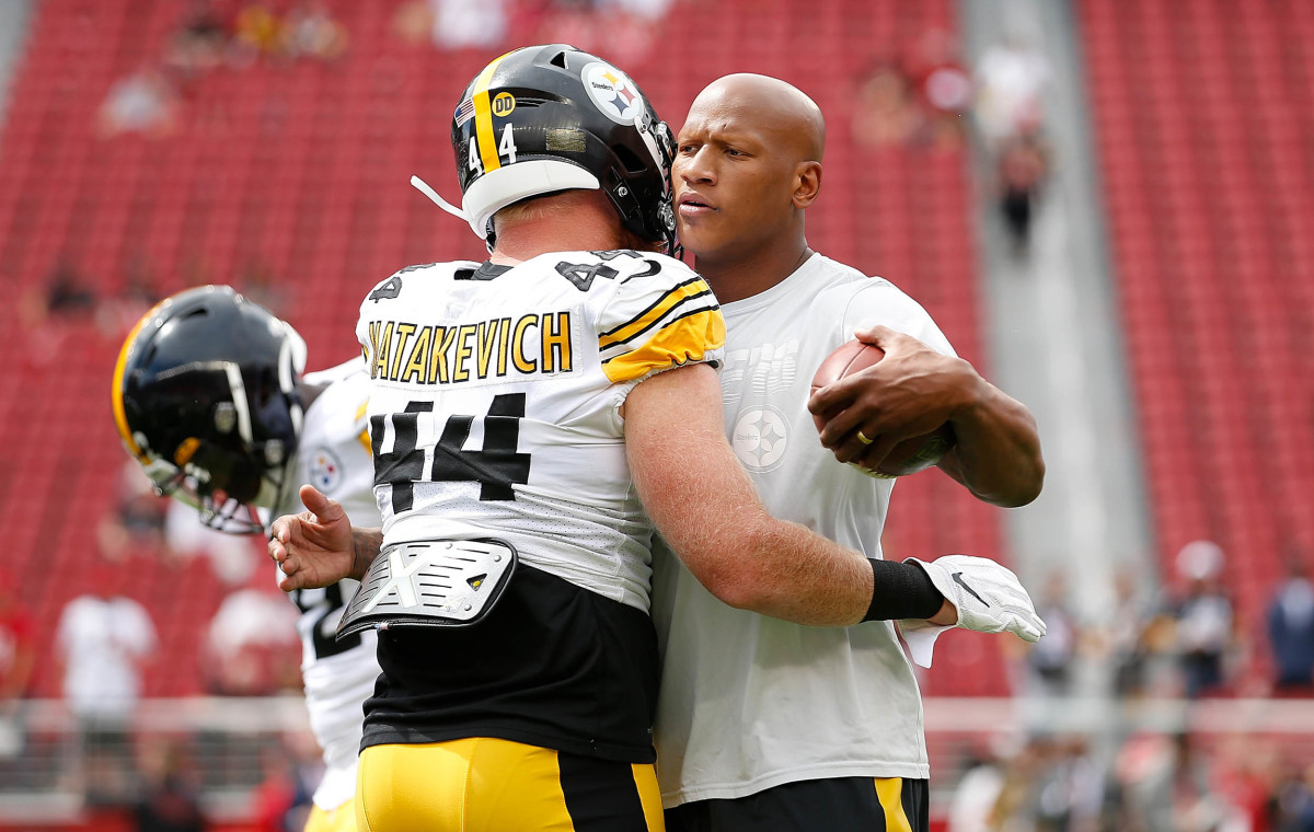 Ryan Shazier after the injury, in 2019