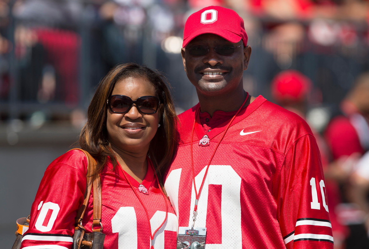 Ryan Shazier's parents, mom Shawn and Dad Vernon
