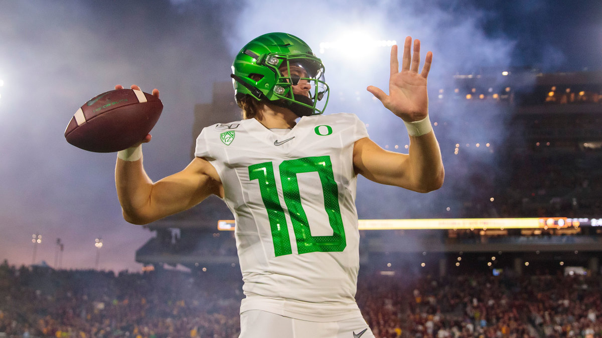 Justin Herbert: NFL in sights as Oregon career winds down - Sports ...