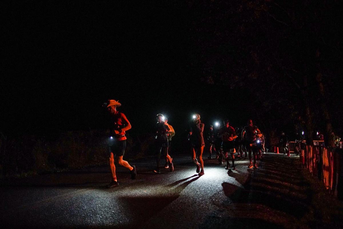 Runners at Big Dog's Backyard Ultra