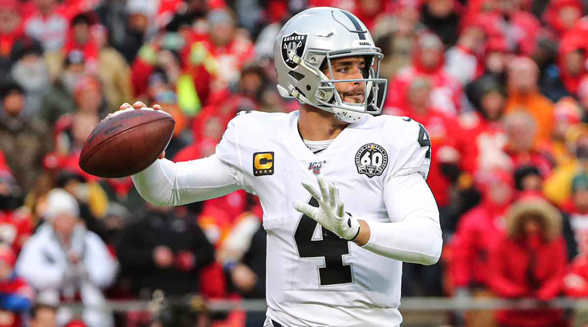 How Many TDs Will Derek Carr Throw in 2020?