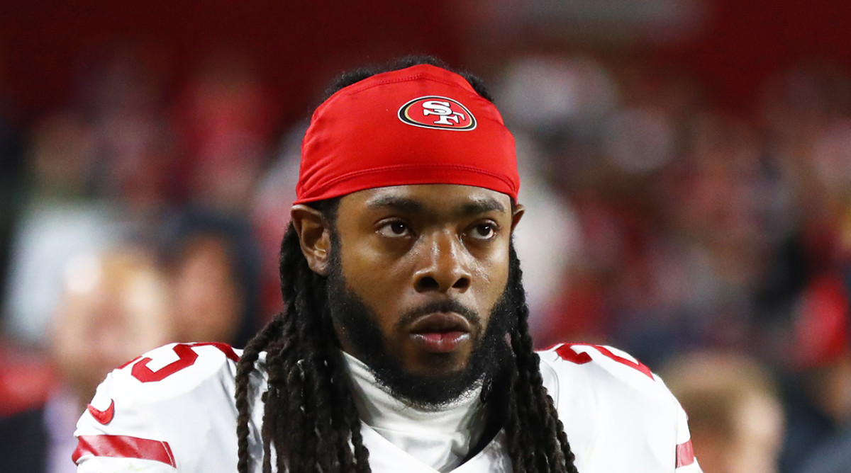 Richard Sherman Defends Suspended Analyst Tim Ryan After His Lamar Jackson Comments