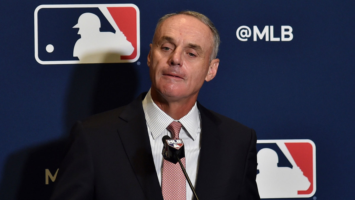 Rob Manfred on Recent Astros Apology: 'It Was Not Successful'