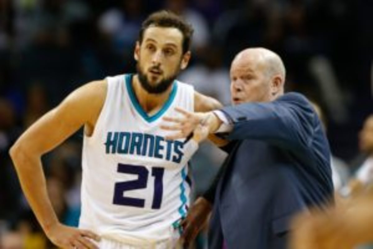 Belinelli has been the answer from beyond the arc.