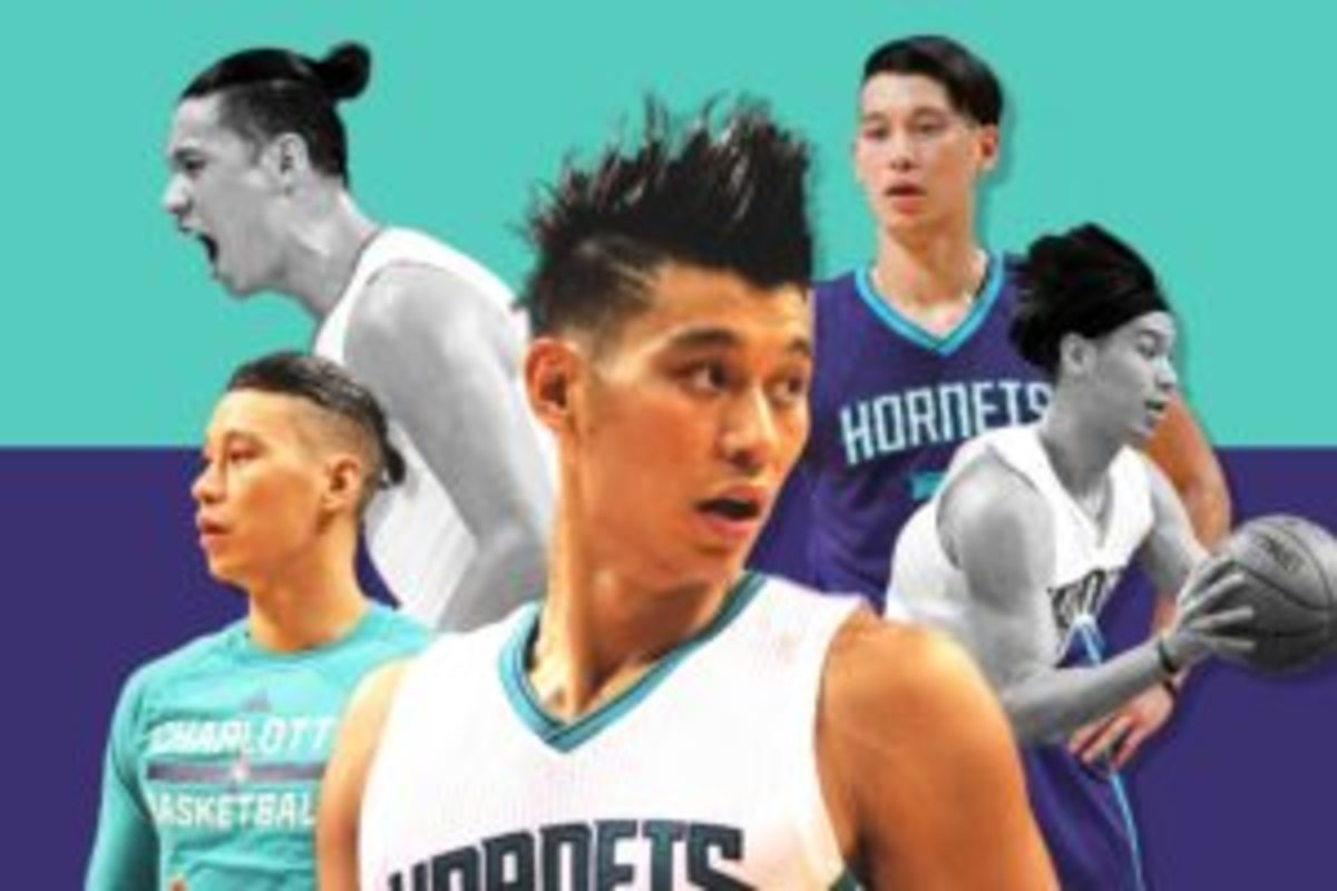 Lin's hair kept us on our toes (courtesy: GQ)