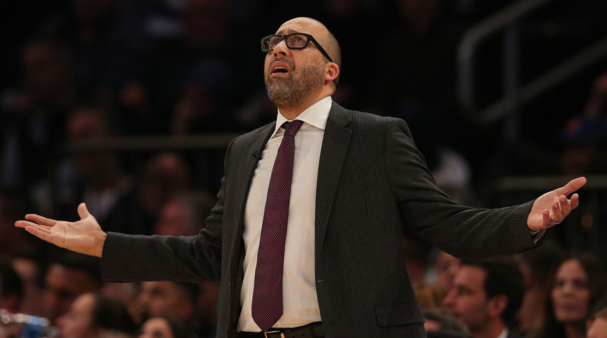 Knicks fire David Fizdale after less than two full seasons as head coach.