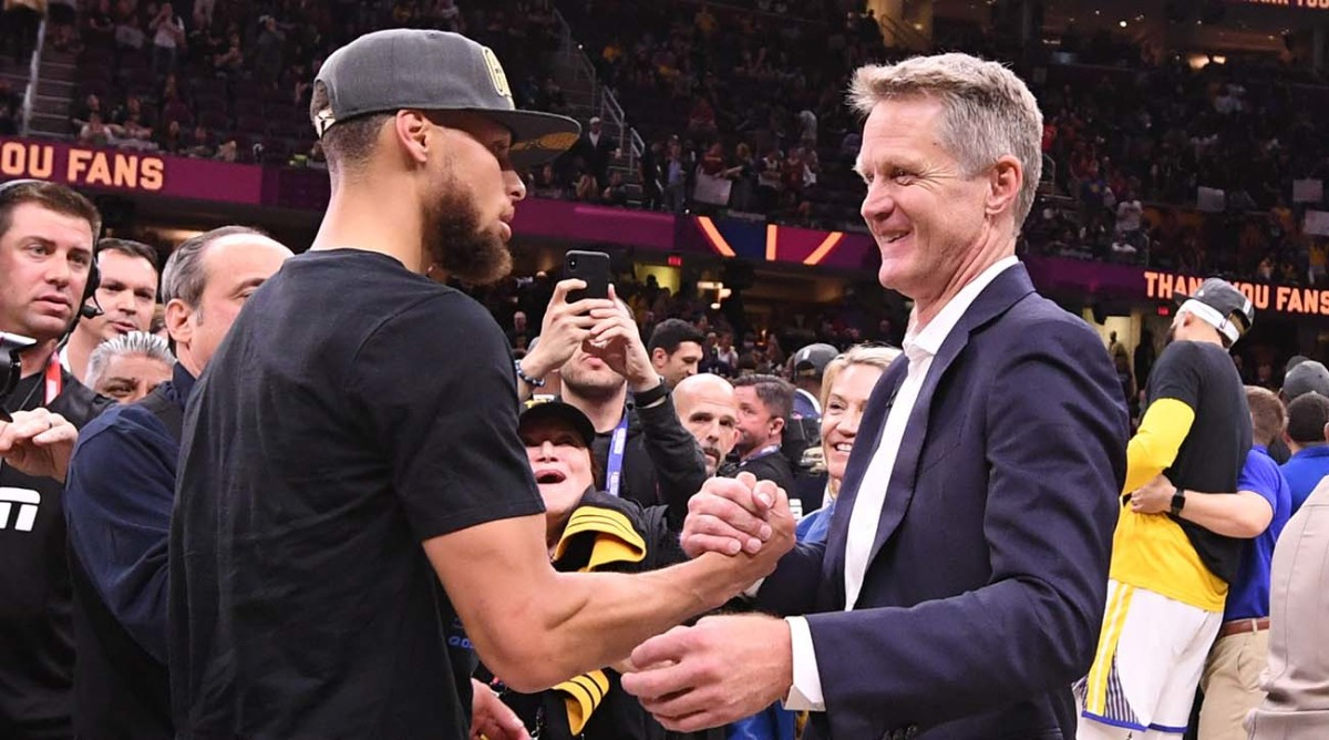 Kerr on Curry Return: 'It's Never Been a Question'