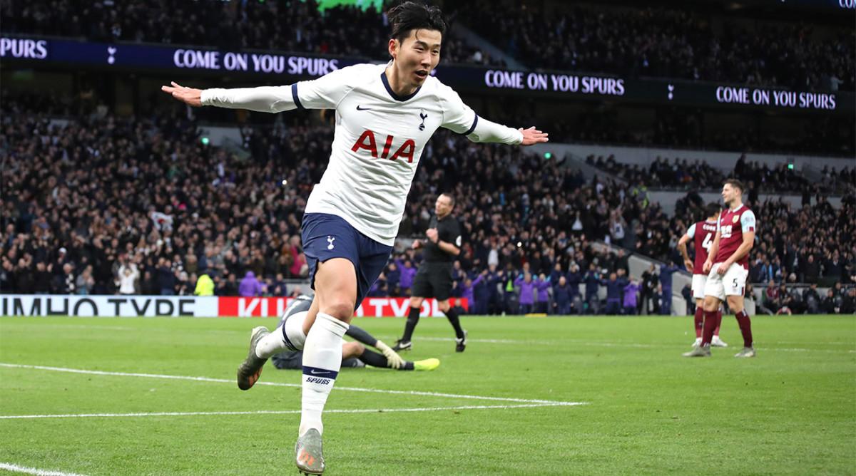 Son Heung-min Goal Burnley