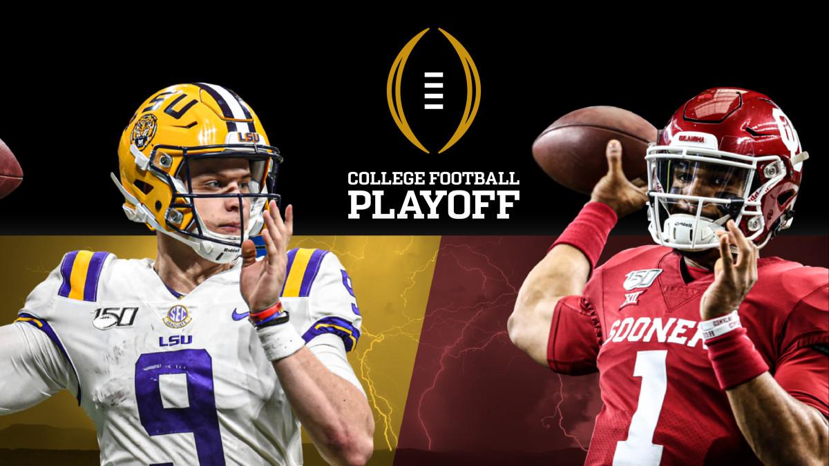 LSU vs Oklahoma College Football playoff