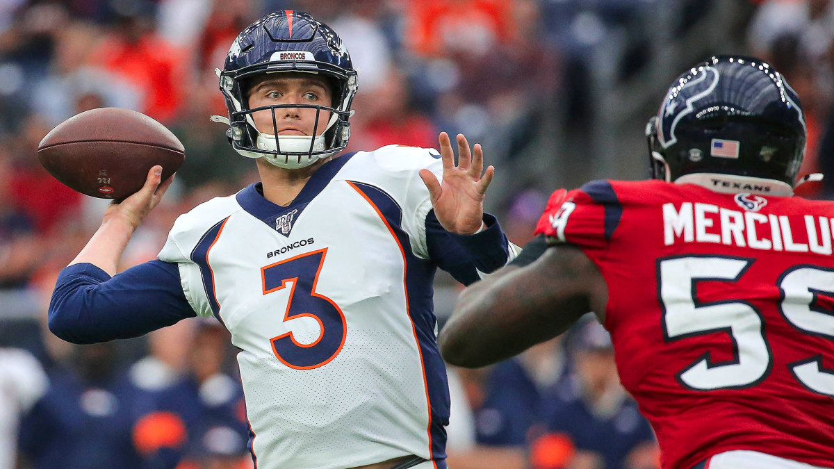 Second Use Seattle >> Broncos' Patience in QB Drew Lock Is Paying Off - Sports ...