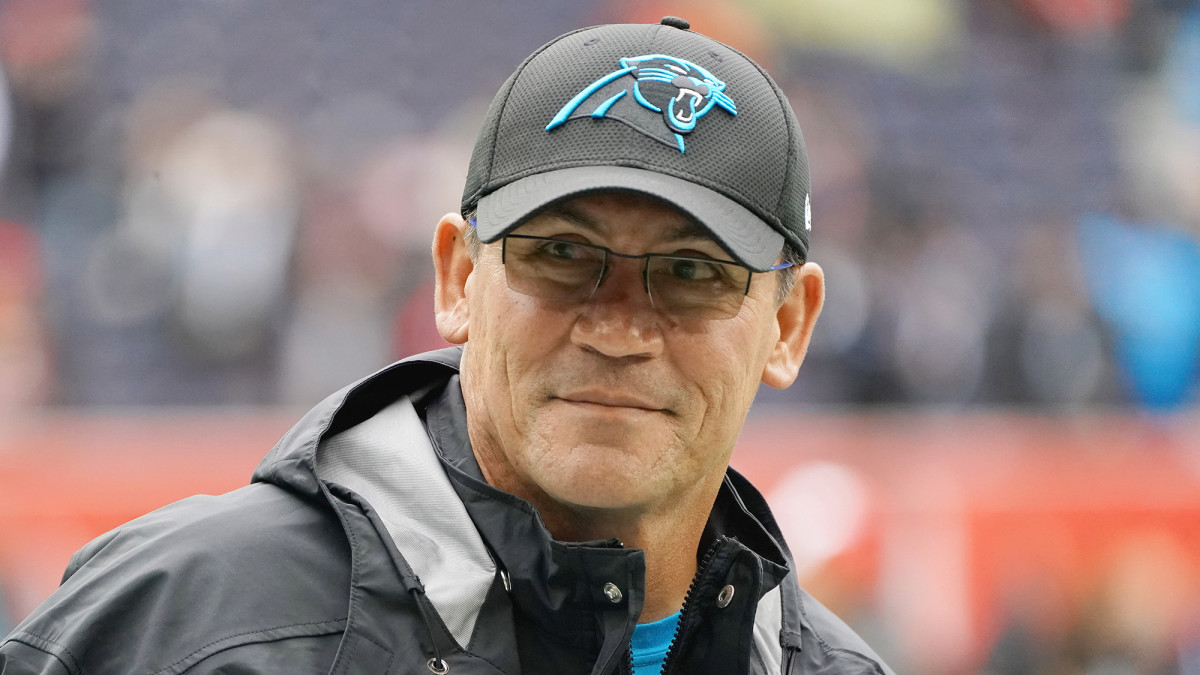 Rivera was let go after the Panthers fell to 5–7.