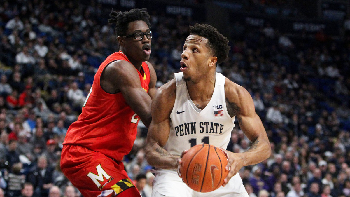 Penn State basketball vs Maryland