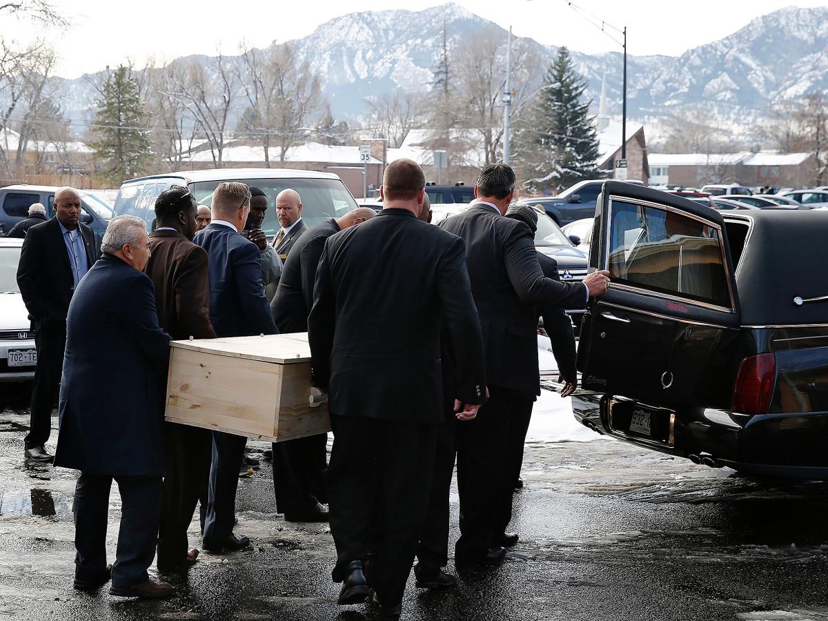Rashaan Salaam death funeral