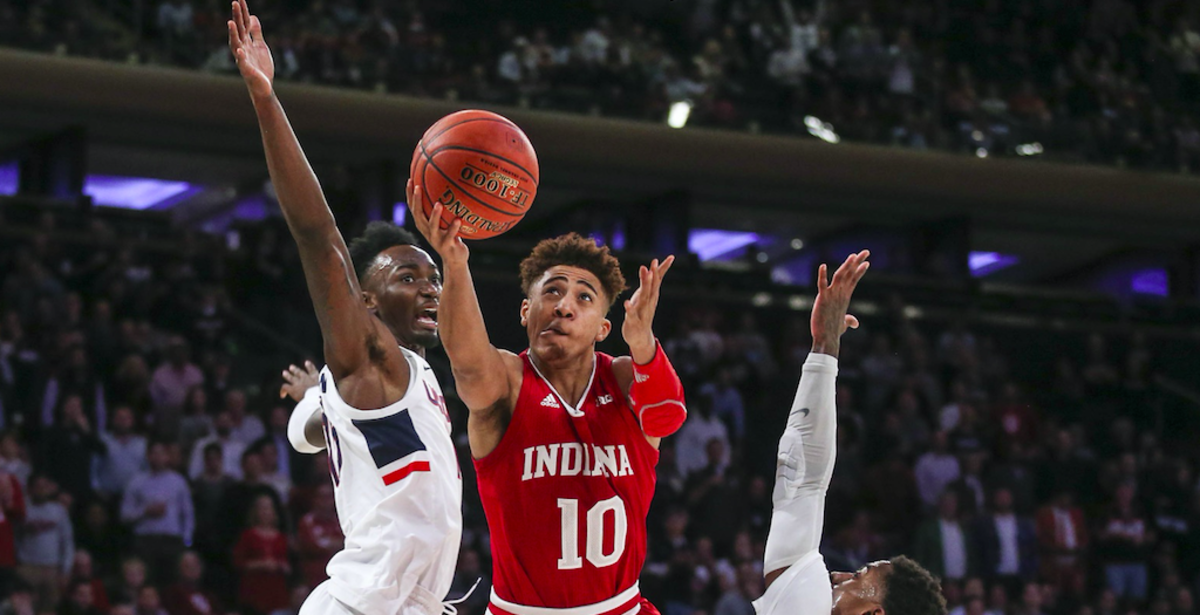 Indiana is off to an 11-1 start thanks to its depth. Sophomore guard Rob Phinisee has battled through injuries. (MANDATORY CREDIT: USA TODAY SPORTS)