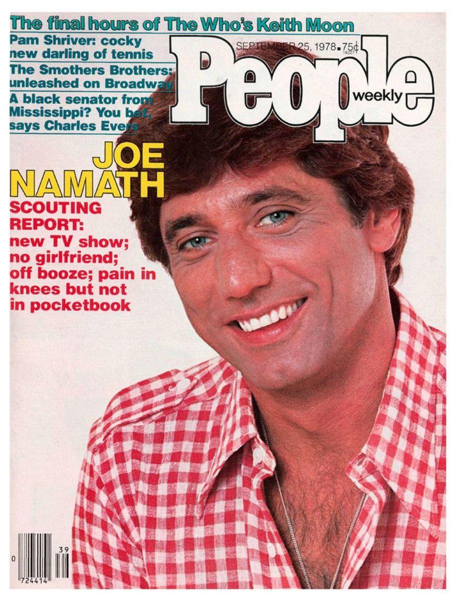 Joe Namath cover People, Sept. 25, 1978