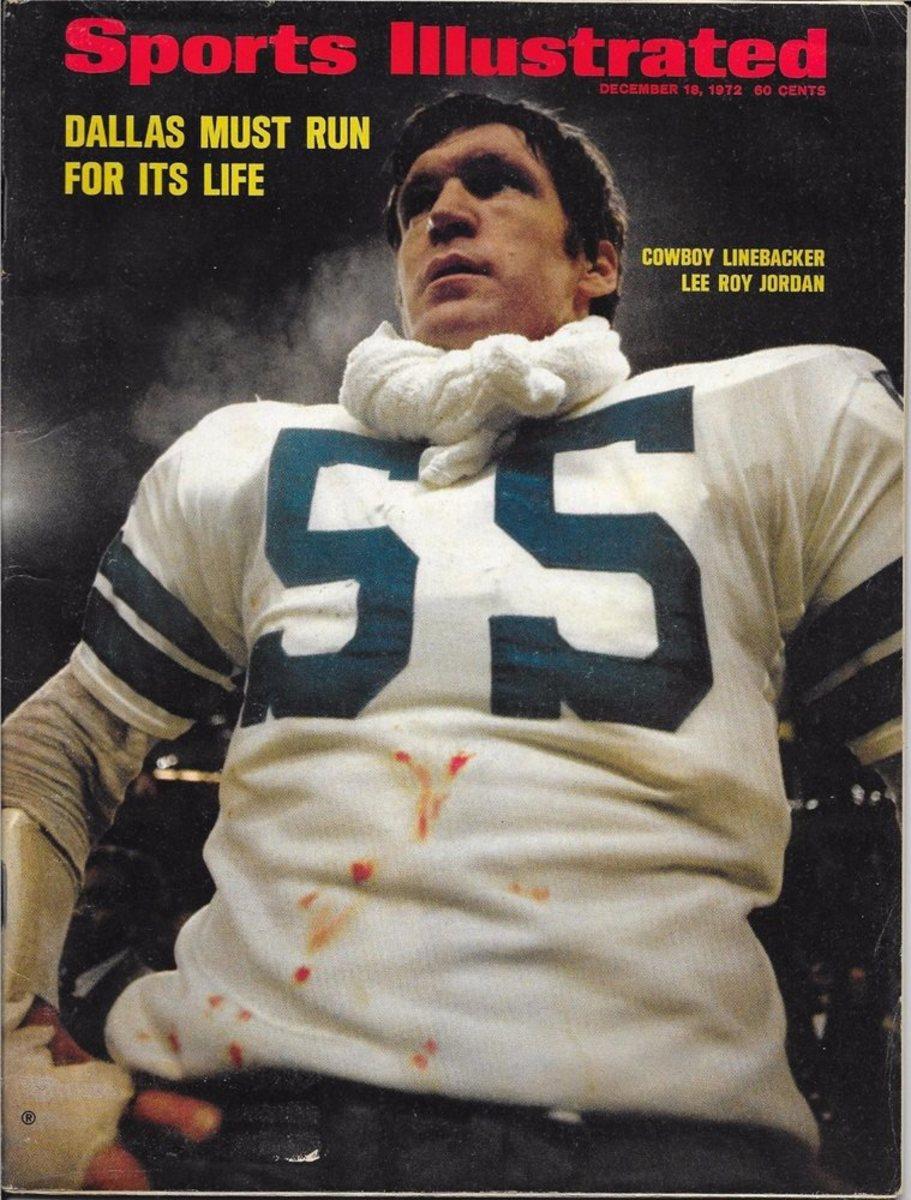 Lee Roy Jordan cover, Sports Illustrated Dec. 18, 1972