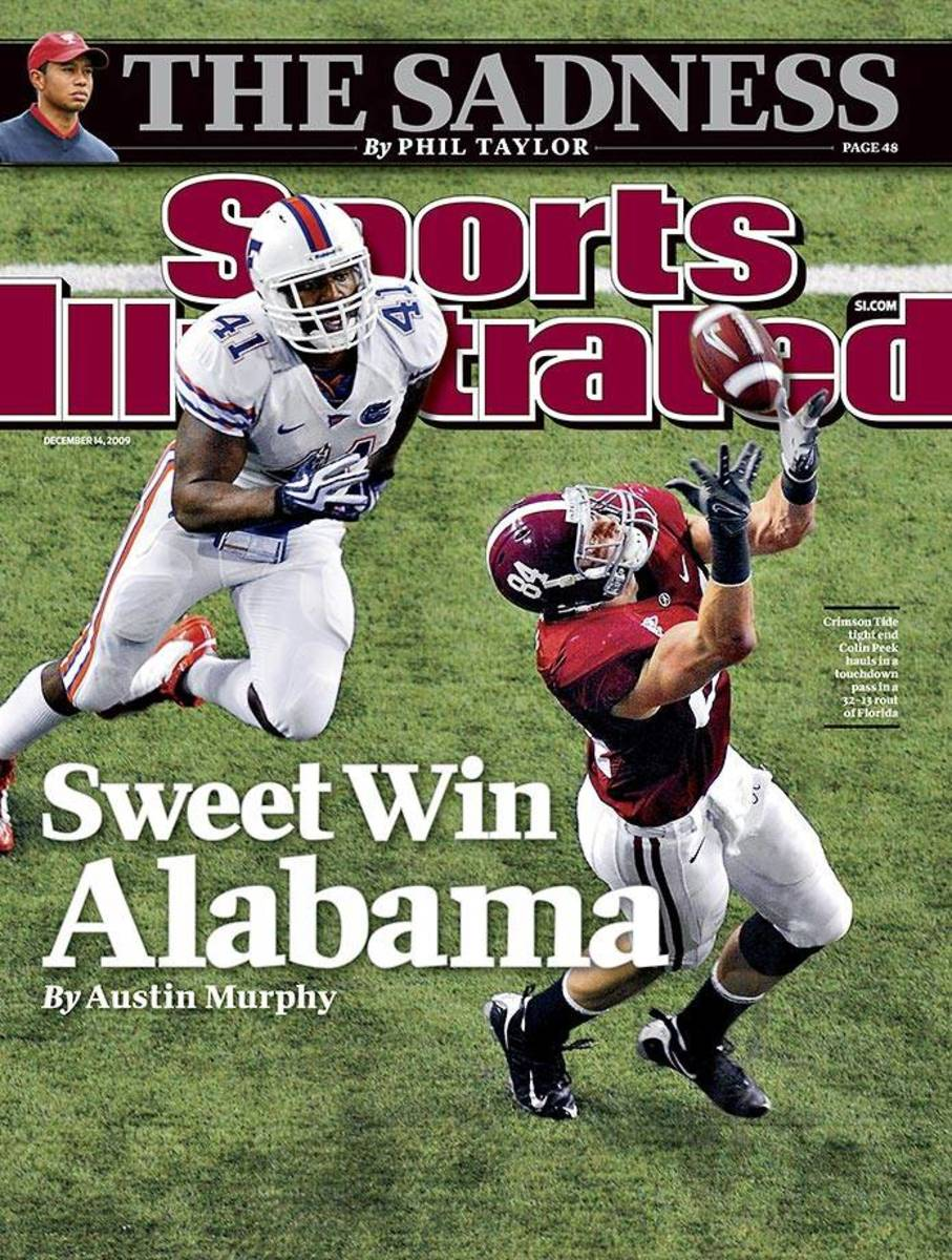 Colin Peek cover Sports Illustrated, Dec. 14, 2009