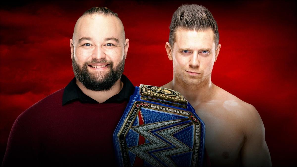 Promotional image for Bray Wyatt vs. The Miz on WWE TLC 2019
