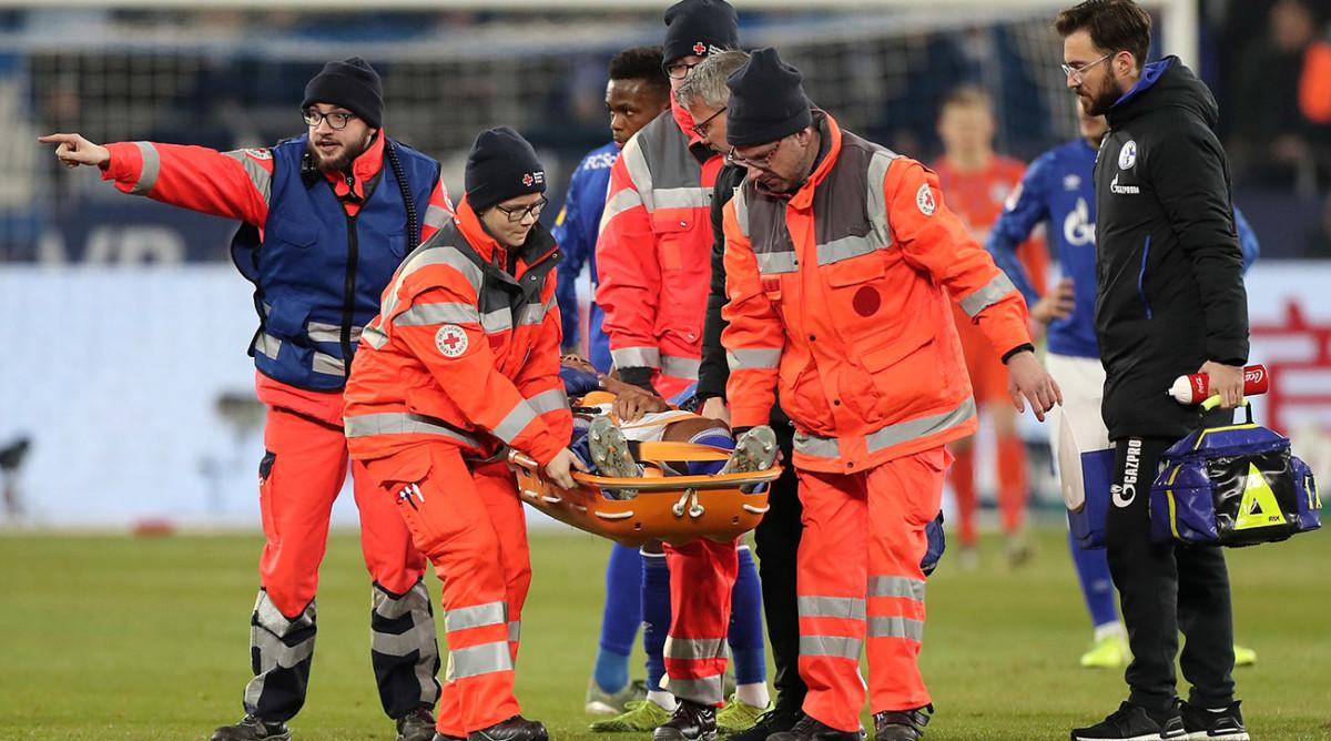 Weston McKennie Injured USMNT Schalke