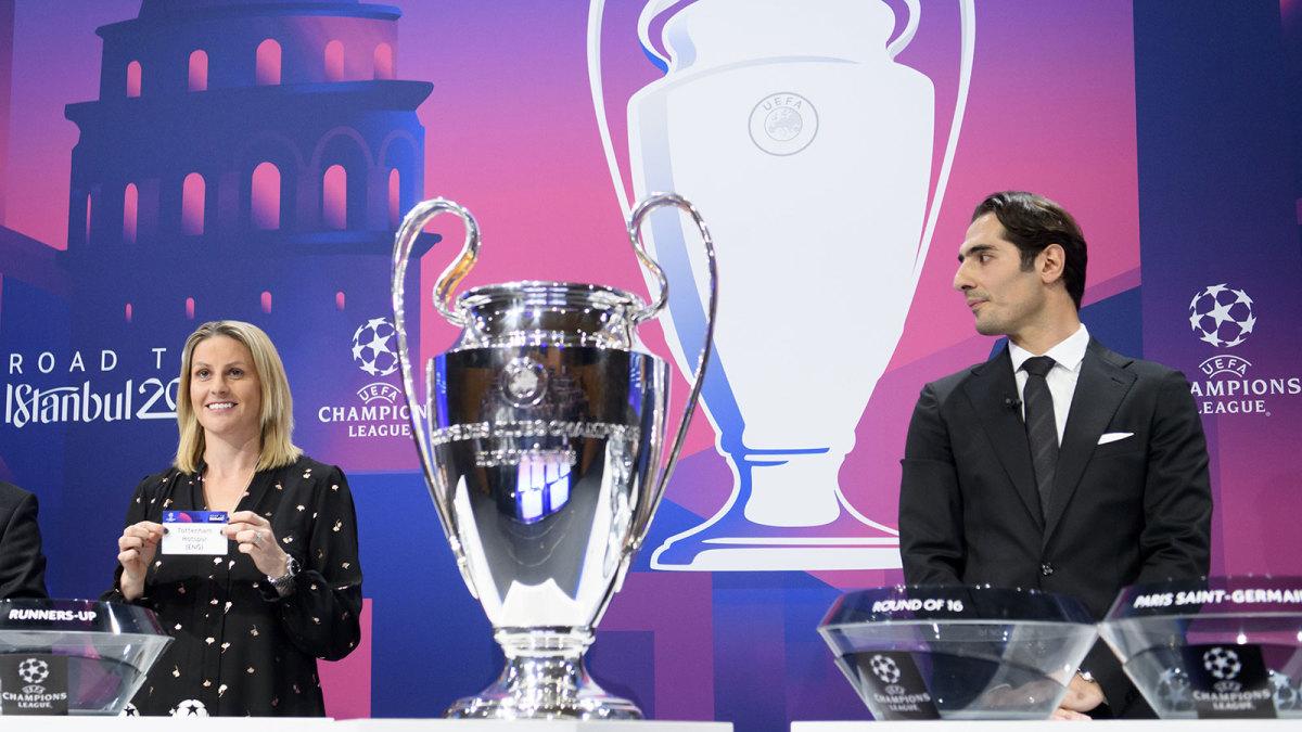 The Champions League last 16 is set