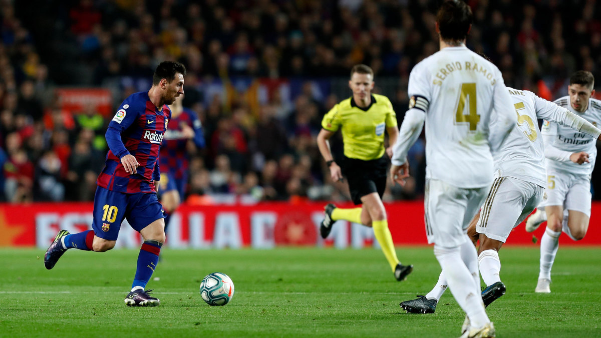 Barcelona and Real Madrid have dominated La Liga
