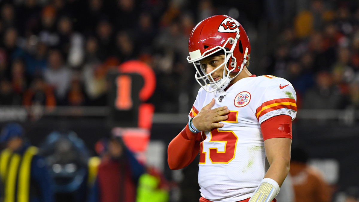 Patrick Mahomes let the Bears know who they passed on in the 2017 draft.